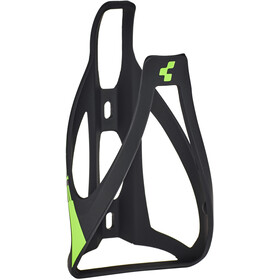 Cube HPP Flaskeholder, matt black'n'classic green